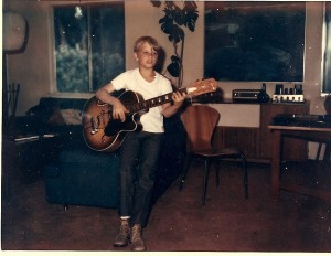 w: my first archtop, age 7